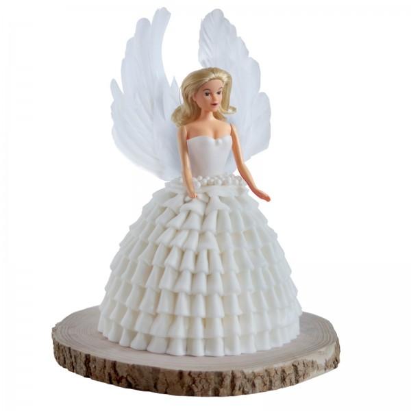 Tortenset Engel weiß
