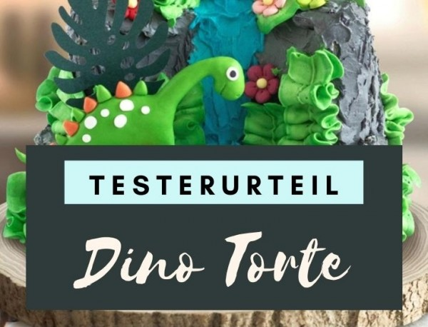 Dino-Torte-selbermachen