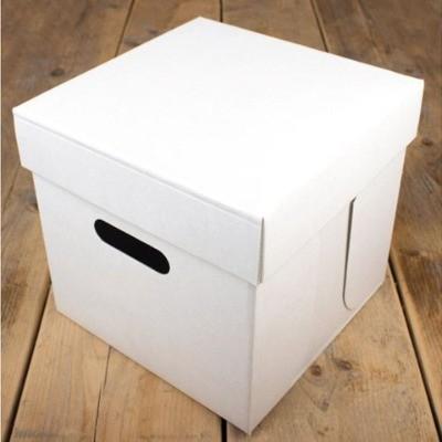 FunCakes Tortenschachtel Blanco 25.5x25.5x25cm