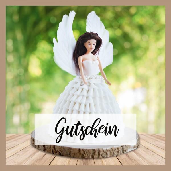 Tortenset Engel weiß - Gutschein