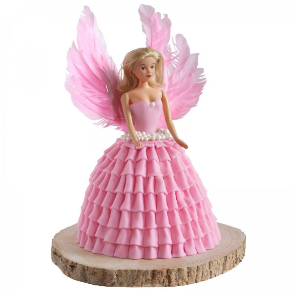Tortenset Engel pink