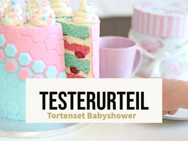 Testerurteil-Babyshowertorte