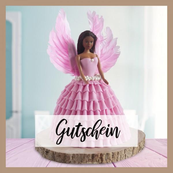 Tortenset Engel pink - Gutschein