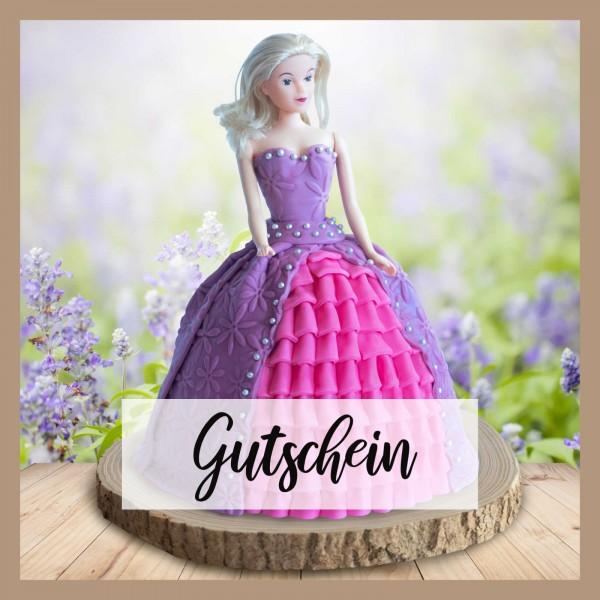 Tortenset Prinzessin - Gutschein