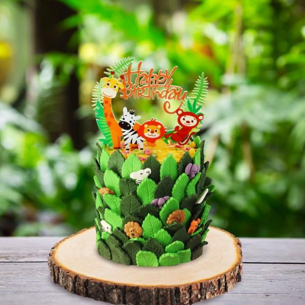 Tortenset Dschungelbande klein