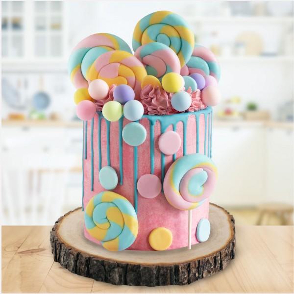 Tortenset Lollipop (Drip Cake)