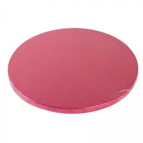 Cake Board rund, pink, 25cm