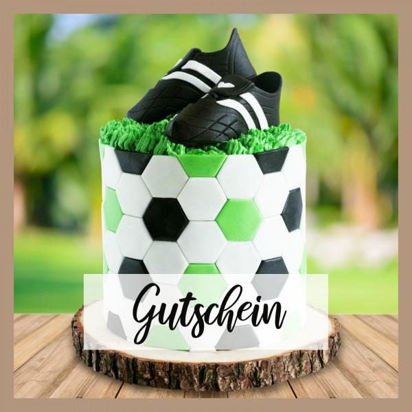 Tortenset Fussballfan - Gutschein